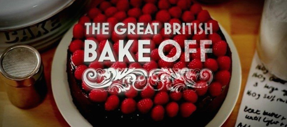 The Great British Bake Off big